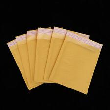5-100Pcs Kraft Bubble Mailers Padded Envelopes Self Seal Shipping Bags Lot