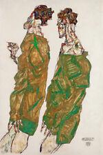 EGON SCHIELE DEVOTION EXPRESSIONISM ART GICLEE PRINT FINE CANVAS