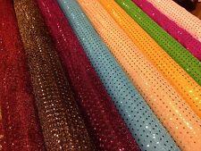 Lentejuelas 3 mm de tela brillante brillante American Knit 100cm Ropa M66 mtex