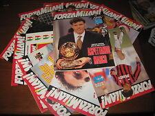 FORZA MILAN ANNATA COMPLETA 1993 TUTTE LE RIVISTE ! OTTIME CONDIZIONI van basten