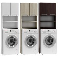 Waschmaschinenschrank Badschrank Schrank Hochschrank Badeegal Überbau weiß