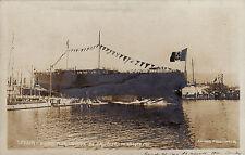 #SPEZIA: VARO DELLA R. NAVE CONTE DI CAVOUR- AGOSTO 1911