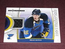 Hockey Fleer 07-08 Hot Prospects Materials / Brad Boyes GU Jersey Sabres - Blues