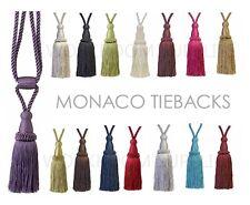 Par De Cortinas Tiebacks - 21cm Borla 70cm Abrazo TIE-Back - 15 Colores-Barril