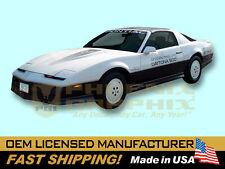1983 Pontiac Firebird Trans Am Nascar DAYTONA 500 Pace Car Door Decals Kit