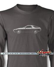 Porsche 928 1978 - 1995 Long Sleeves T-Shirt - Multiple Colors & Sizes - German