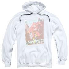 JUSTICE LEAGUE FLASH RUNNING WILD Pullover Hooded Sweatshirt Hoodie SM-3XL