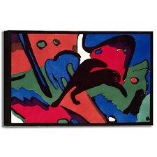 Franz Marc cavaliere azzurro quadro stampa tela dipinto telaio arredo casa