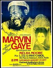0254 VINTAGE MUSICA poster arte Marvin Gaye * Poster GRATIS
