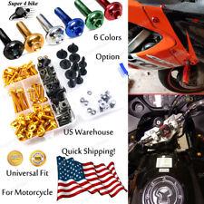 Motor Complete Fairing Bolt Kit Body Screws Set For Kawasaki ZX-11D 1993-2002