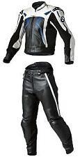 BMW Biker Cuir Costume Costume de motard en cuir Moto Cuir Veste Pantalon EU-56