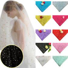 Yard Star Tulle Mesh Confetti Glitter Soft  Tulle Bow DIY Wedding Birthday Decor