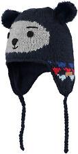 Barts Bonnet tricoté Bonnet d'HIVER blau Bouly INCA BONNET DE FOURRURE CHAUD
