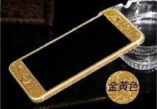 Diamond Glitter Bling Full Body Sticker Case Screen Protector For iPhone4 5S  6S