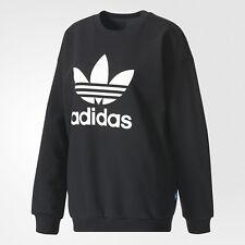 Felpa Trefoil Girocollo Adidas