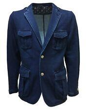M.I.D.A chaqueta de hombre sudadera tejido 100 % algodón tejido HECHO EN JAPÓN