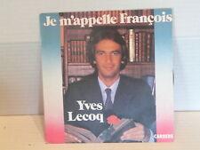 YVES LECOQ Je m appelle Francois 49817