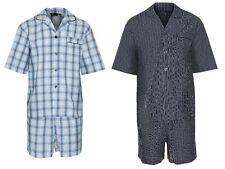 Men's Summer Pyjama Set Short Sleeve Shirt Shorts Pajama by Champion luxury pj's