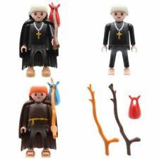 Playmobil Moine Prêtre Tonsur Spirituelle Monastère