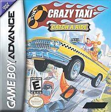 Crazy Taxi: Catch a Ride (Nintendo Game Boy Advance, 2003) SKU 529