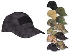 Mil-Tec Tactical Baseball Cap mit Klett für Patches Einsatzcap Schirmmütze Mütze
