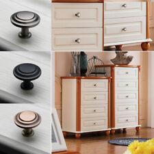 Zinc Alloy Kitchen Round Door Handle Knob Drawer Cabinet Cupboard Wardrobe Pull