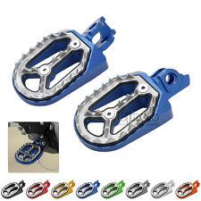 Foot Pegs Rest Pedal Footpegs For SUZUKI RM250 RMZ450 2010-2015 Dirt Bike NEW