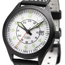 Molnija Automatic 2824 militares Laco tmp serie rusa reloj mecánico