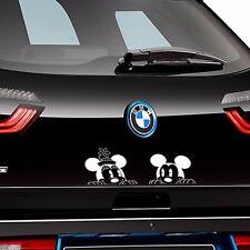 Disney Retro Mickey  Minnie Waterproof Car Engine Bumper Hood Door Vinyl Sticker