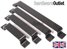 1 RUSTIC Industrial Style Metal Door PULL HANDLES Handmade Drawer Cabinet Handle