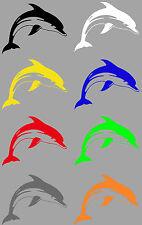 Aufkleber Sticker Delfin Delphin Fisch für Auto Motorrad Laptop Angler etc.