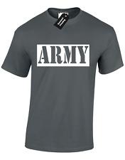Army Hombre Camiseta Tamaños Grande 3XL 4XL 5XL Diseño Elegante Vestido idea Nuevo Calidad Superior