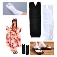 5 Pairs Unisex Japanese Kimono Flip Flop Sandal Split Toe Tabi Ninja Geta Socks