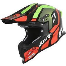 Casco Moto Cross Just1 6063230192047 J12 Vector Rosso