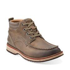 Clarks Mens MAHALE MID Olive Nubuck Leather Ankle Chukka Boots UK 7.5,8.5,9 G