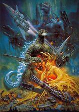 GODZILLA VS. MECHAGODZILLA Movie POSTER ART
