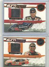 2007 Press Pass Eclipse - TONY STEWART - Burnouts Race Used Tire - NASCAR
