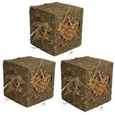 Small Animal Guinea Pigs Rabbits Boredom Breaker Medium Hay Cube