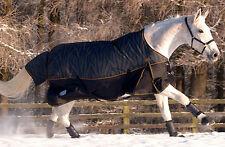 Masta Turnoutmasta 200g Zebra 600 Denier Winter Mediumweight Horse Turnout Rug