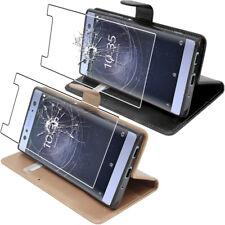 ebestStar Etui Portefeuille Sony Xperia L1 L2 XA XA1 XA2 Ultra/Plus VERRE Trempé