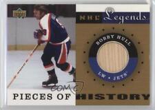 2001-02 Upper Deck Legends PH-BH.1 Bobby Hull (Winnipeg Jets) Winnipeg Jets Card