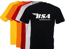T-shirt marqué BSA, moto anglaise, vintage, biker, motard, S, M, L, XL, NEUF