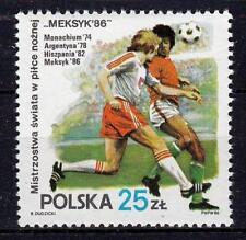 POLAND 1986 **MNH SC#2728 SOCCER CUP MEXICO`86
