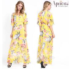 Women Long Soft Chiffon Summer Party Maxi New Evening Plus Size Dress 2XL - 4XL