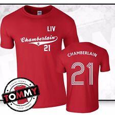 Liverpool Alex Chamberlain T-Shirt,Alex Oxlade Chamberlain tshirt, Liverpool