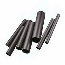Custom Chrome Mild Steel & Perforated Universal Exhaust Tube/Pipe - 1 Metre