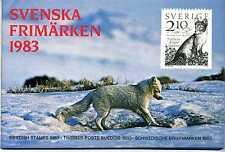 Svenska Frimärken 1983 Schweden Briefmarken ** Kompl. Jahrgang 1983 KI22106