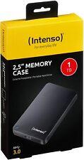 Intenso Memory Case 500GB 1TB 2TB 4TB USB 3.0 externe Festplatte HDD TB Schwarz