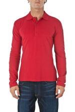 Polo Armani Jeans AJ Polo Shirt -50% Uomo Rosso 06M04BT-F4 SALDI