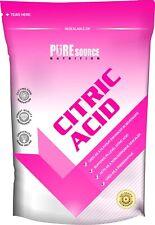 Citric Acid 250g 500g 750Kg 1Kg 2Kg 5Kg 10Kg Food Grade Bath Bombs Home Brew